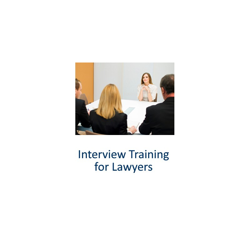 Interview Training for Lawyers