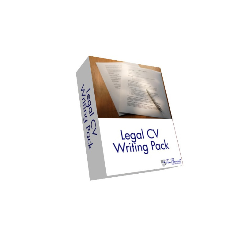 Legal CV Writing Pack