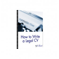 How to Write a Legal CV
